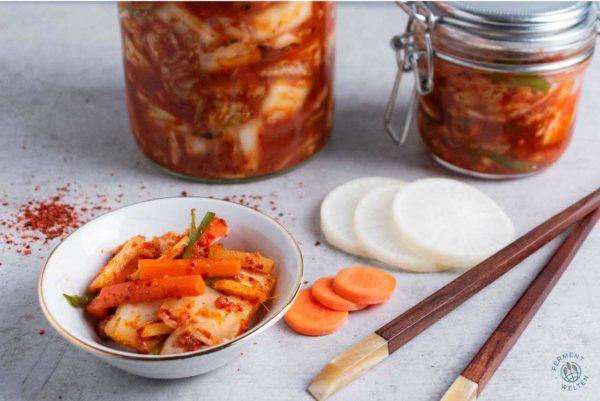 Veganes Kimchi mit Rezept